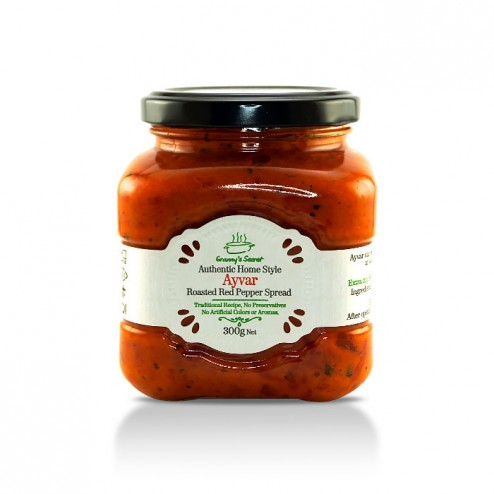 Ajvar Fire roasted pepper spread