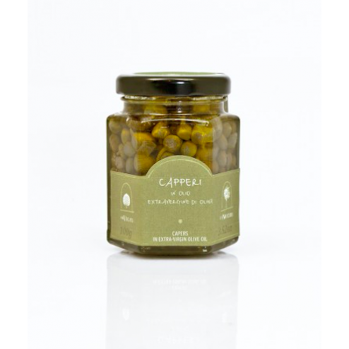 I.G.P. Pantelleria Small Capers in extra Virgin Olive Oil