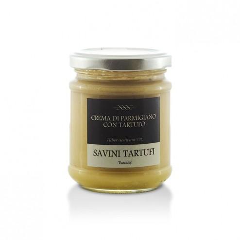 Parmisan Cream with Truffles