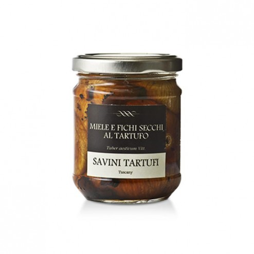Honey and dried figs with Truffle