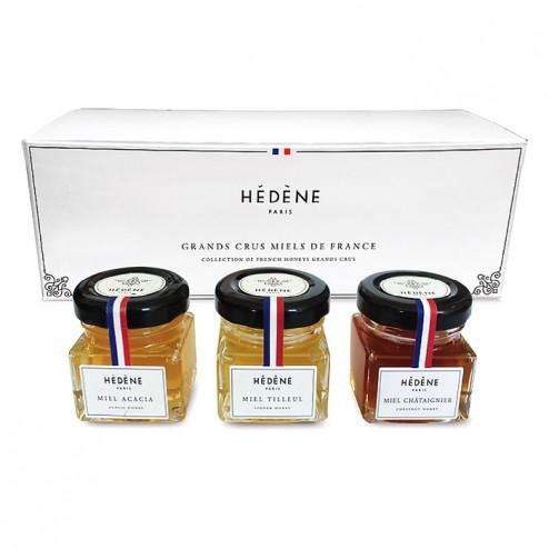 Gift Set - Trio of Honeys Grands Crus