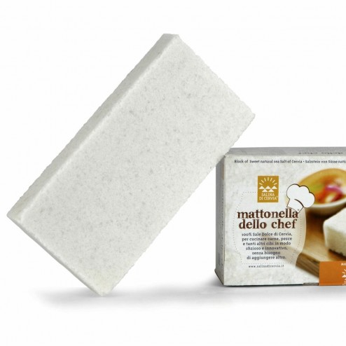 Sea Salt of Cervia - Solid Serving / Cooking Stone