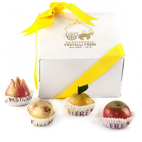 Sicilian Marzipan Fruit in Gift Box - 9 pcs