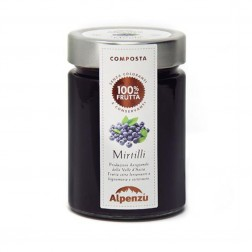 Blueberries Jam 100% fruits - 340gr