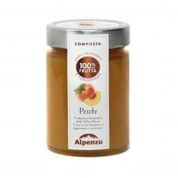 Peach Jam 100% Fruits - 350gr