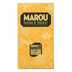 Artisan Chocolate Bar 72% Tablette de Dong Nai
