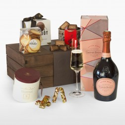 Champagne & Chocolate Gusto Box