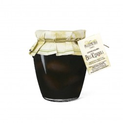 Olives | Black Cerignola Large (with pit) - 550gr Jar