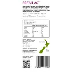 FRESH AS | Blackcurrant Powder - 40gr