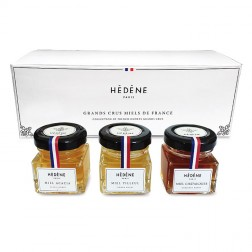 Gift Set - Trio of Honeys Grands Crus