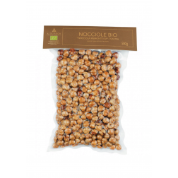 Hazelnuts Roasted Organic IGP Piedmont - 500gr