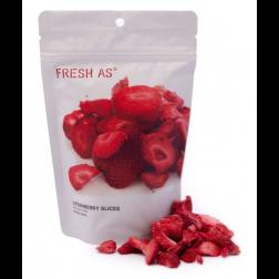 FRESH AS | Strawberry Slices - 22gr