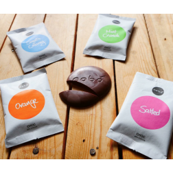Nobo Chocolate Button I Dairy FREE Sea Salt - pcs