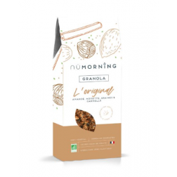 Granola Organic | Almond, Hazelnut, Graines and Cinnamon