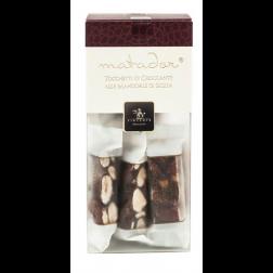 Crunchy Nougat pieces with Sicilian Almonds