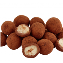 Macadamia Nuts Pearls Coated with Chocolate - 600gr