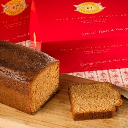 Spiced Cake Special Toast & Foie Gras (Pain d'Epices)