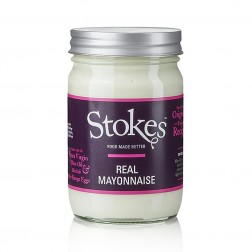 Real Mayonnaise made with Extra Virgin Olive Oil - 345gr