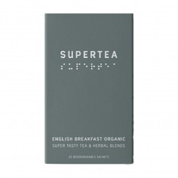 Supertea English Breakfast Organic Tea