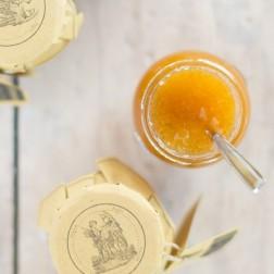 White DOP Cilento Fig and Lemon Extra Jam
