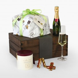 Panettone and Champagne Gusto Box
