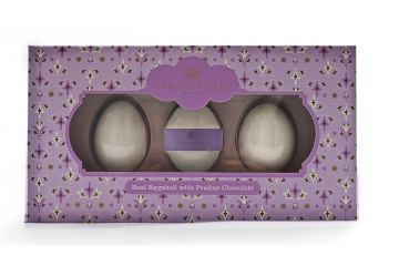 Real Eggshell with Praline Gift Box