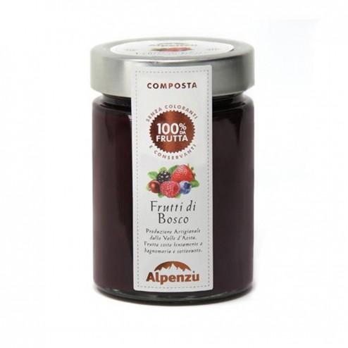 Confiture de Fruits des Bois 100% Fruits - 350gr