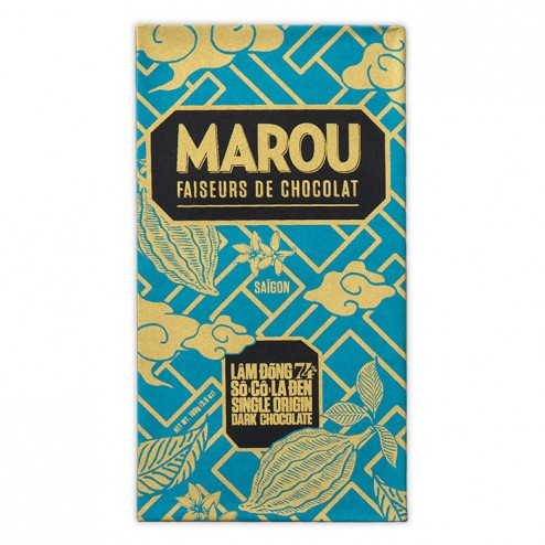 Barre Chocolat Artisanale 74% Lam Dong