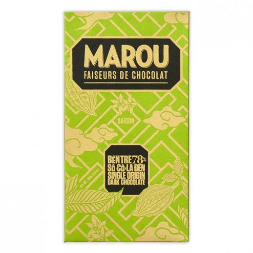 Barre Chocolat Artisanal 78% Ben Tre