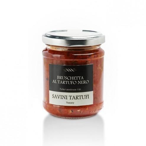 Sauce Bruschetta aux Truffes Noires