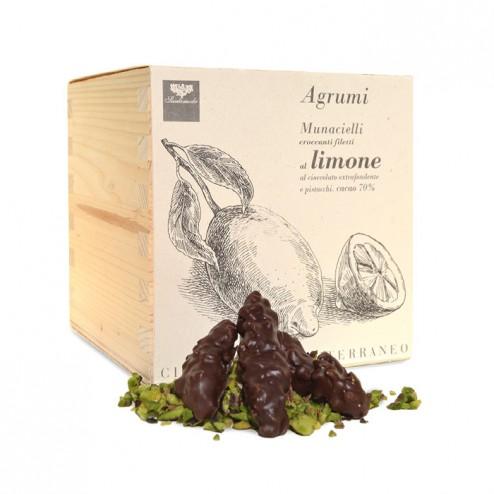 SANTOMIELE - Citron Confit aux Pistaches Granella et Chocolat Noir