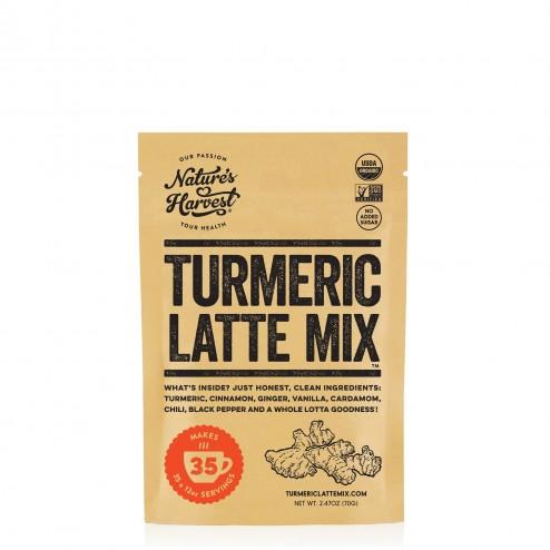 Chai Latte au Curcuma en poudre