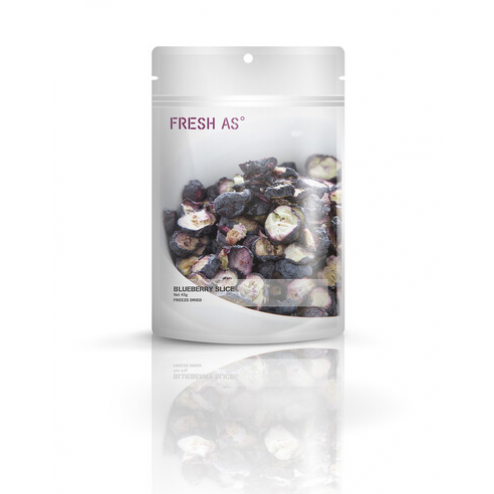 FRESH AS | Freeze-dried Blueberry Slice - 45gr