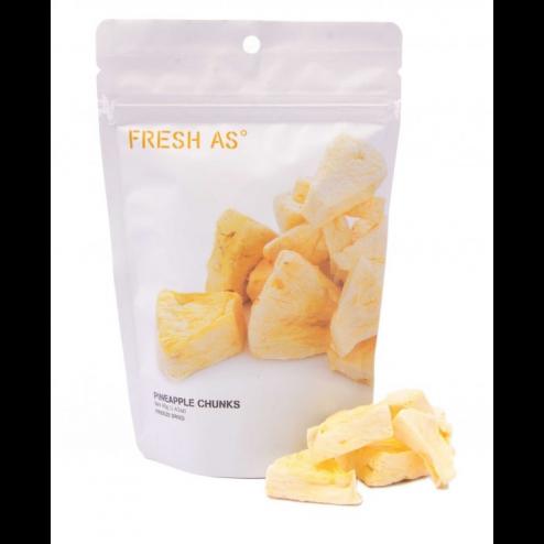 FRESH AS | Morceaux d'ananas lyophilisés - 40gr