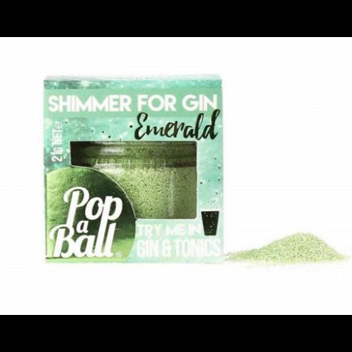 Popaball Emerald Shimmer Powder - Cucumber Flavour