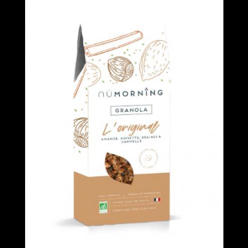 Granola biologique | Amande, Noisette, Céréales et Cannelle