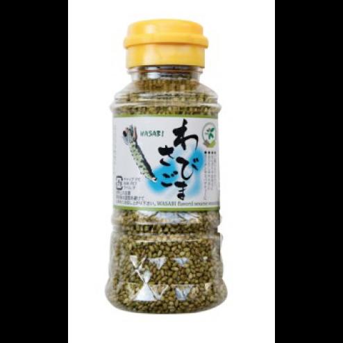 Graines de Sésame Torréfiées au Wasabi - 80gr
