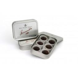 Boîte de pralines au Chocolat Noir de Modica