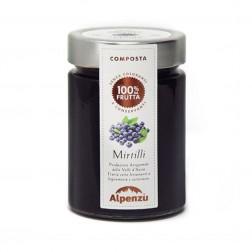 Confiture de Blueberries 100% fruits - 340gr