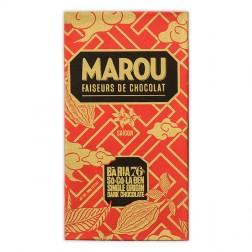 Bar Chocolat Artisanal 76% Ba Ria