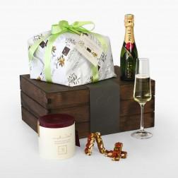 Gusto Box Panettone et Champagne