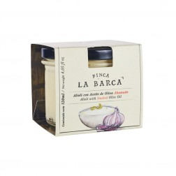 Sauce Aioli aromatisée à l'Huile d'Olive Fumée - 120ml