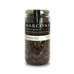 Amandes Marcona - Non émondées, frites et salées