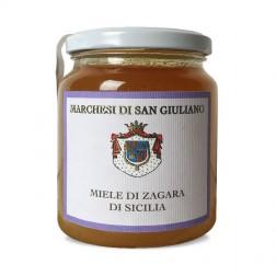 Miel Bio d'oranger Sicilien de Zagara, 500gr