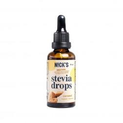 Stevia Drops - Goût Caramel 0 kcal