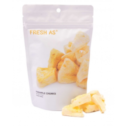 FRESH AS | Freeze-dried Pineapple Chunks - 40gr