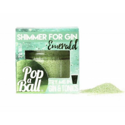 Popaball Emerald Shimmer Powder - Cucumber Flavour