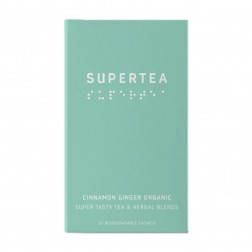 Supertea - Thé Biologique Cannelle Gingembre