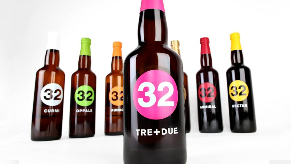 Cheers to artisan microbrewery Italian beer