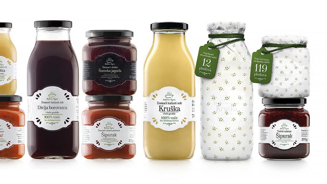 Granny's Secret : Jus naturels, Confitures de fruits, Ajvars (caviars) de légumes & Marmelades